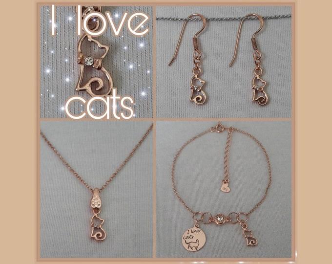 I Love Cats Jewels - Gioielli