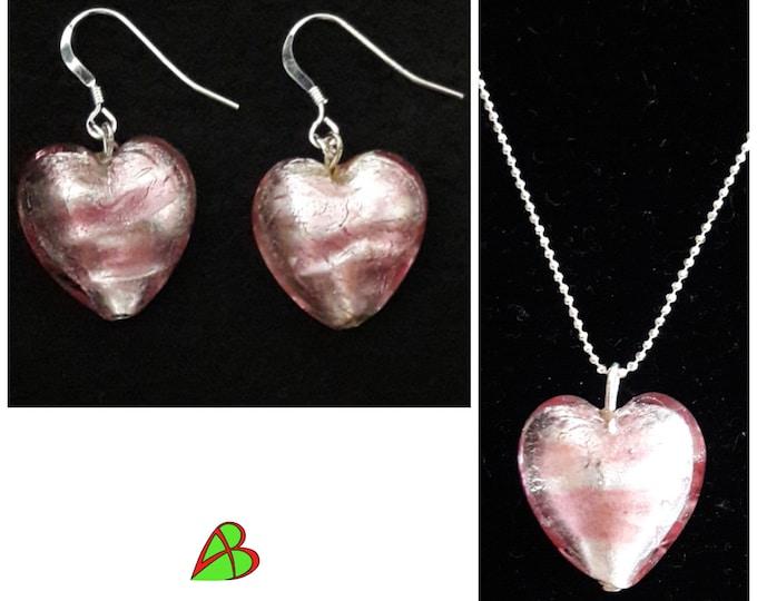 Murano Heart Jewelry - Murano Heart Jewels