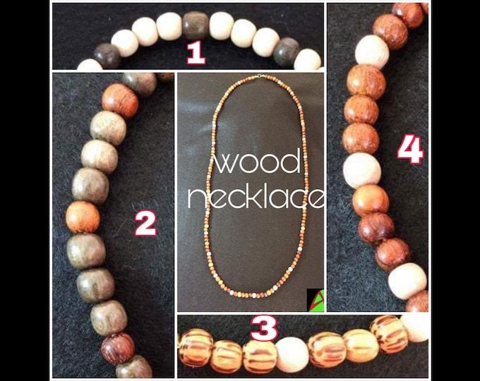 Collane in Legno - Wooden Necklaces