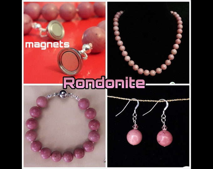 Rondonite Jewels (Grace Magnets Model) - Rondonite Necklace