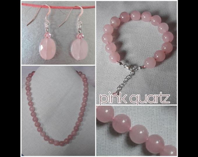 Pink Quartz Jewelry - Pink Quartz Jewels