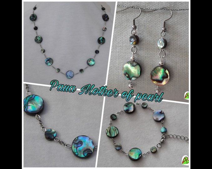 Paua Moon Jewelry - Paua Moon Jewels