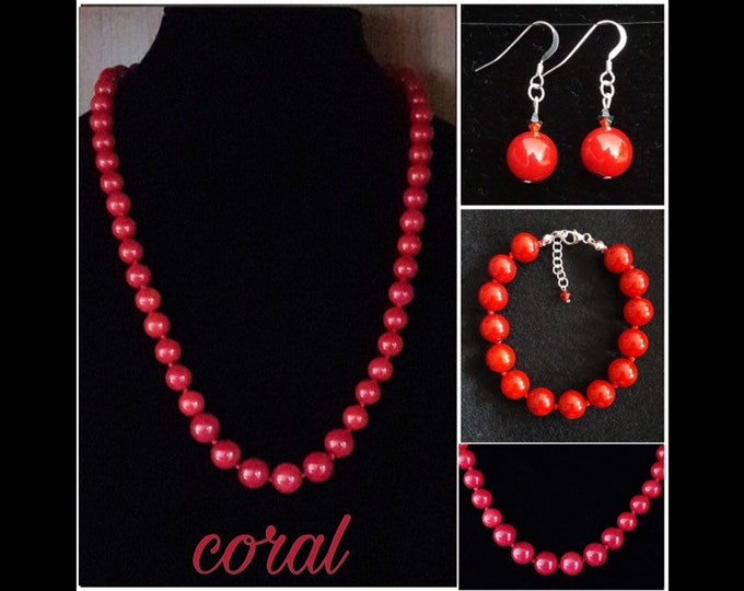 Bamboo Coral Jewelry - Coral Jewels