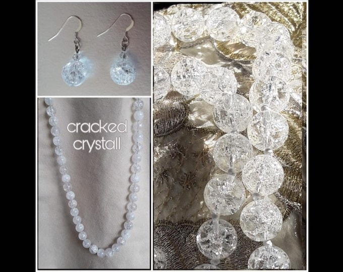 Rock Cracked Crystal Jewelry - Cracked Crystal Jewels