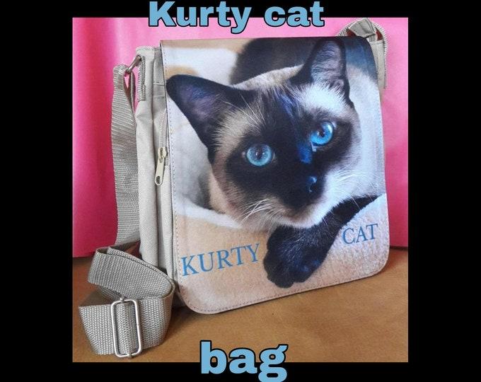 Kurty Cat - Crossbody Bag
