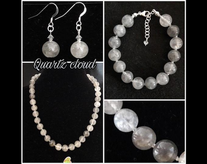Jewels Quartz Cloud - Quartz Necklace