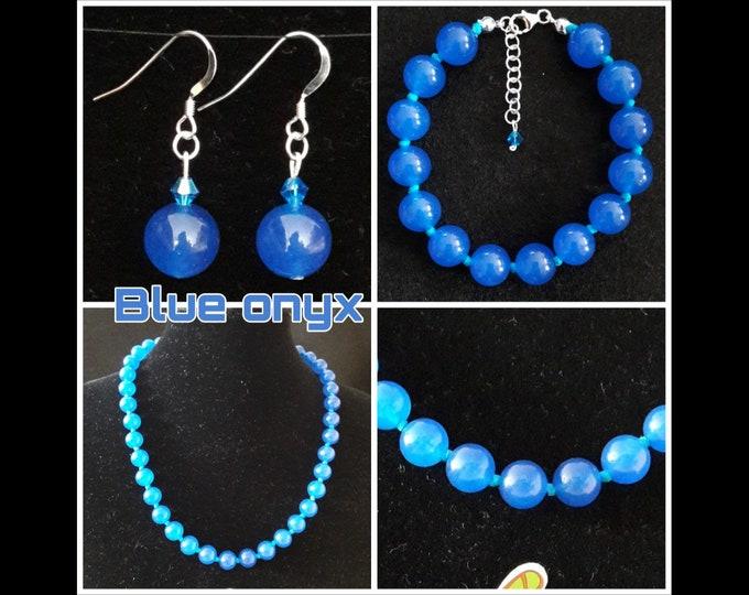 Gioielli Onice Blu - Blue Onyx Jewels