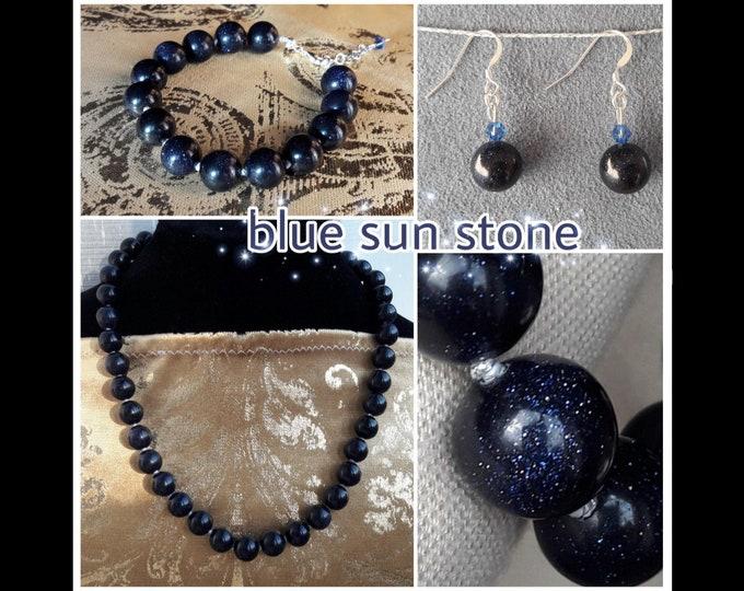 Blue SunStone Jewels - Blue Sun Stone Jewels
