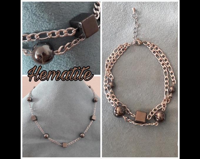 Ematite Rock Jewelry - Hematite Jewels