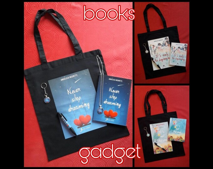 Gadget Books by Angelica Negretti