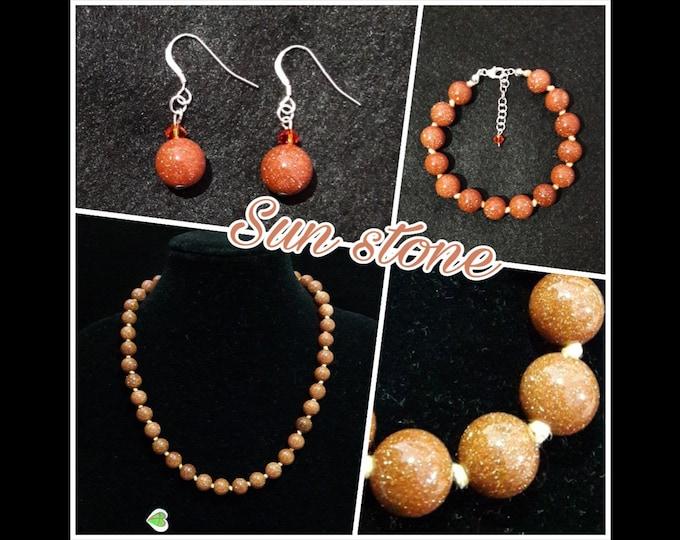 Gioielli Pietra del Sole (Tonda) - Sun Stone Jewels