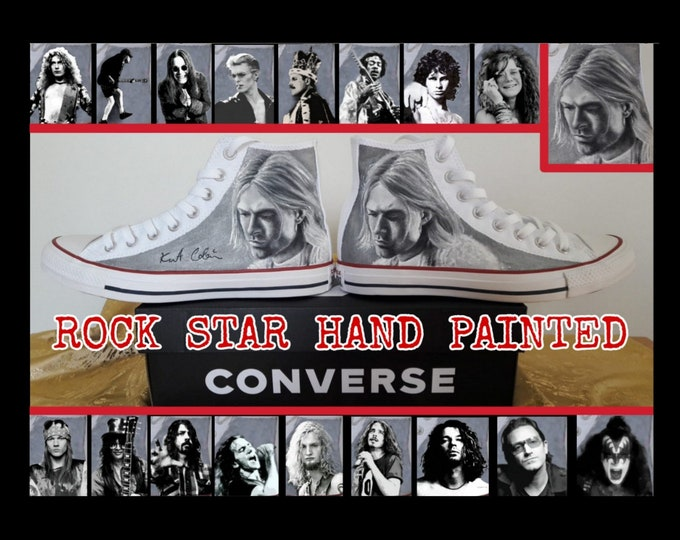 Original Converse All Star - hand painted