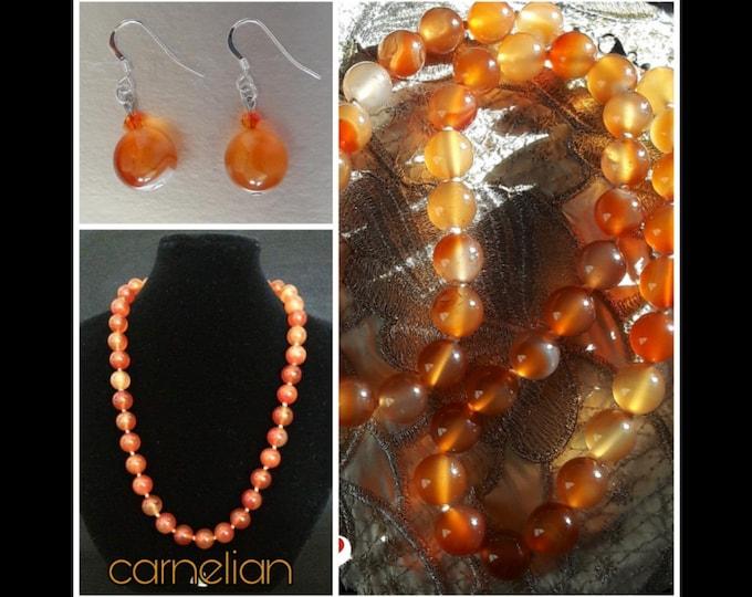 Corniola Jewelry - Carnelian Jewels