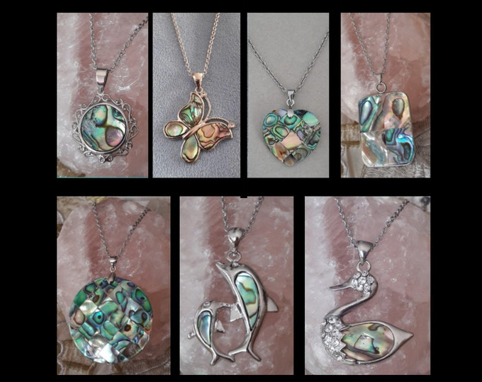 Collane in Madreperla Paua - Paua Mother of Pearl Necklaces