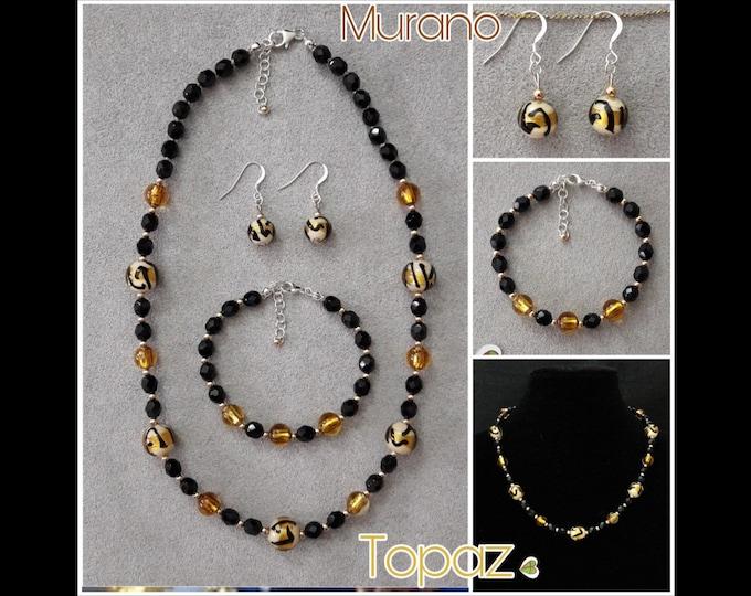 Murano Topaz Jewelry - Murano Topaz Jewels