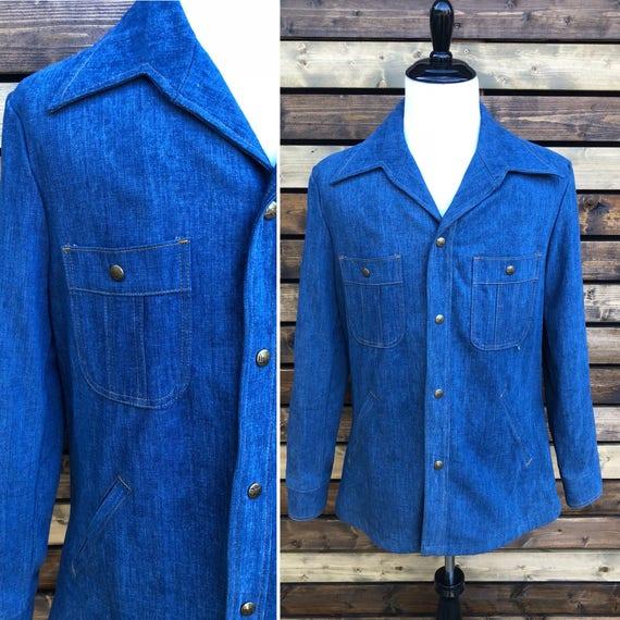 70's Lee Set Denim Jacket | Made in USA