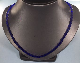 Memorial  Day Bestseller SALE 30% , Sapphire Necklace, Sapphire Necklace, Natural Sapphire Necklace, Genuine Sapphire Gemstone Necklace,