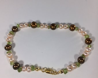 Fathers  Day SALE 30% , Peridot Bracelet, Peridot  Gemstone Bracelet , gemstone Bracelet , Birthstone Bracelet  ,     Birthstone bracelet