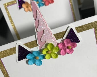 Unicorn Tent Cards