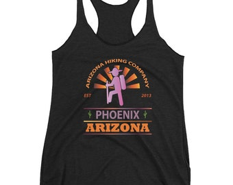 Sunset Chaser Ladies Racerback Tank (Phoenix)
