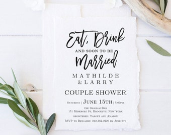 Couples Shower Etsy