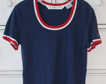 Vintage Tommy Hilfiger Dress With Dyed Bottom