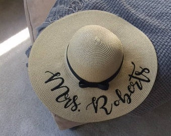 Personalized Floppy Sun Hat 665e48b89dd7
