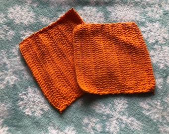 Set of two washcloths