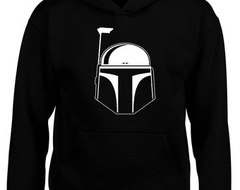 37f921e79db Boba Fett Star Wars Movie Adult Hoodie