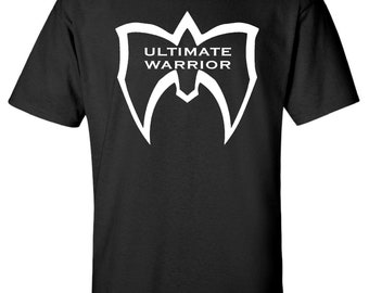 5725d335928d The Ultimate Warrior WWE Wrestling 80s Gym Training T-Shirt