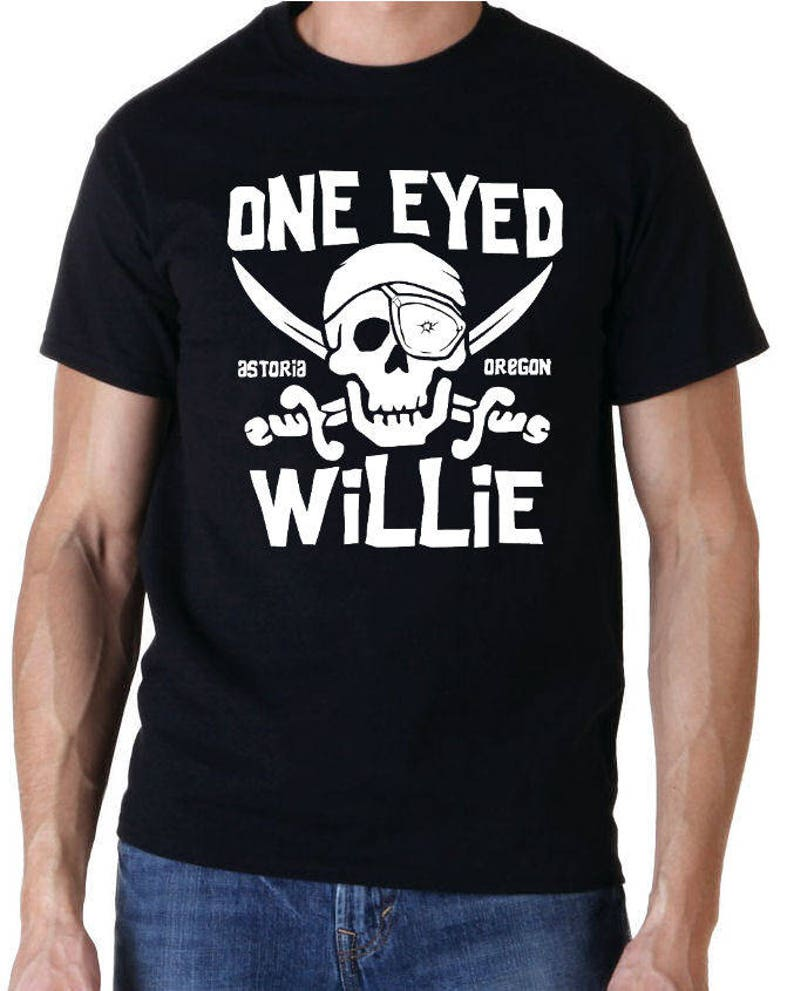 One Eyed Willie T-shirt for Men, S to XXL