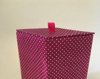 Cardboard diamond box