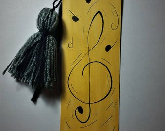 Music Notes Bookmark