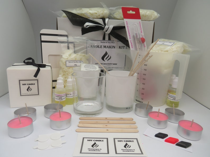 Complete Candle Making Kit Great Starter Kit | Stay at Home Mum