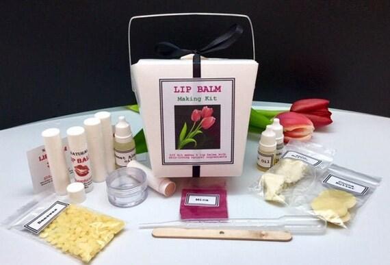Lip Balm Making Kit Diy Lip Balm Make Your Own Lip Balm Lip Balm Kit