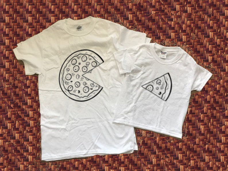 e061846fa Pizza Shirts Daddy and Me Pizza OutfitsMommy and Me Daddy   Etsy
