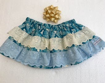 TWIRLY SKIRT - with Frills