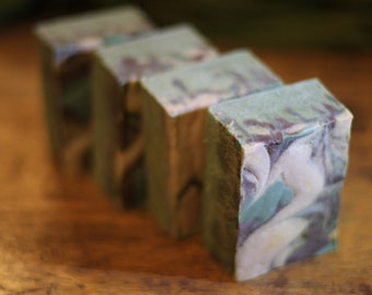 Mountain Fresh Mint handcrafted cold process soap