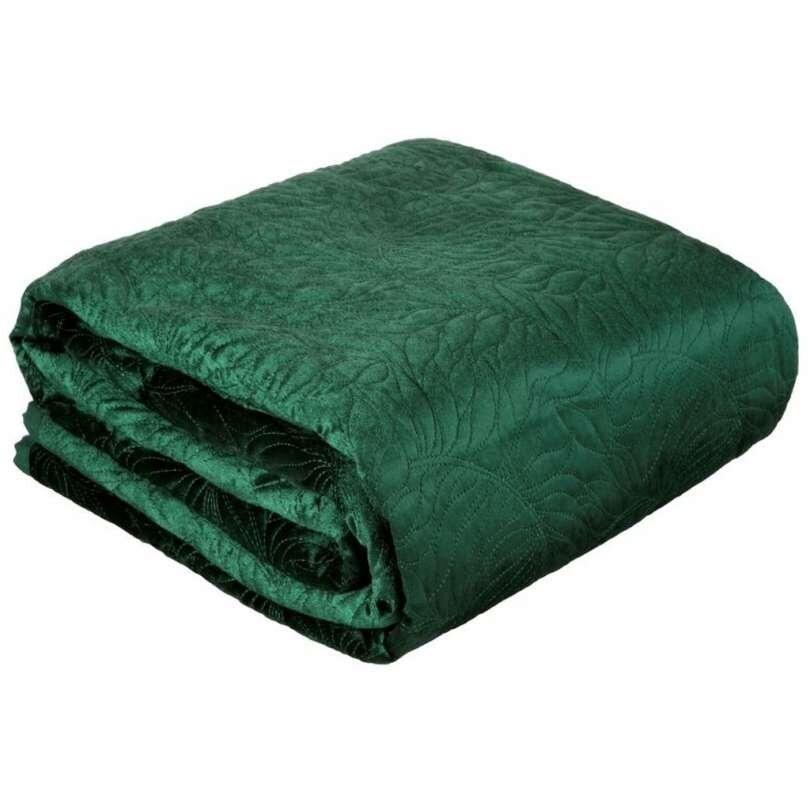 Grand couvre-lit vert velours, couvre-lit de taille Reine, couvre-lit matelassé, Couvre-lit ROYAUME-Uni, Couvre-lit double, taille du roi, Couvre-lits, Bedspreads