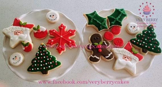 Christmas Cookies Christmas Cookies Santa S Cookies Gifts For Christmas