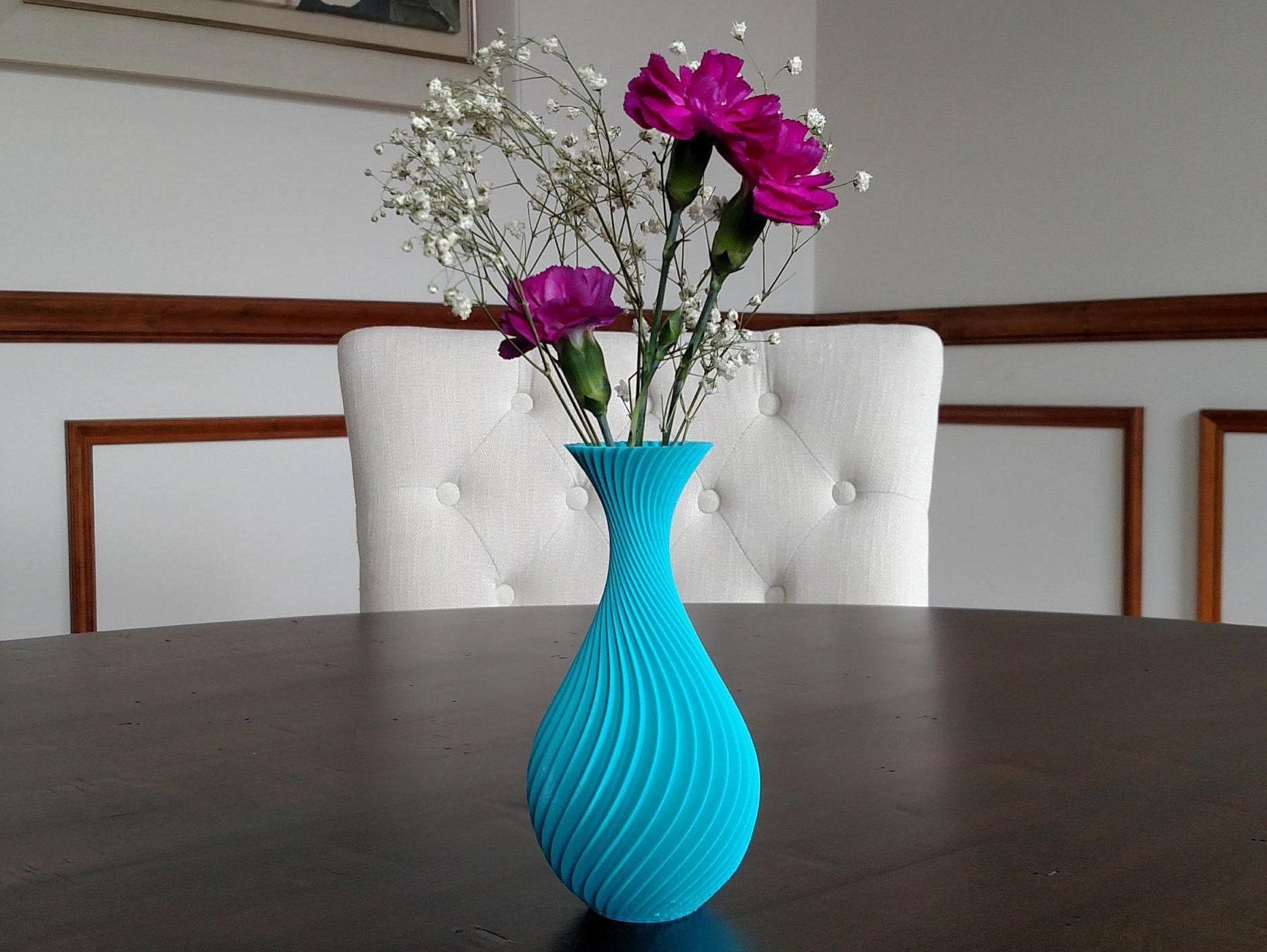 WAVES Art Vase 3d printed home decor Multiple Sizes &   Etsy