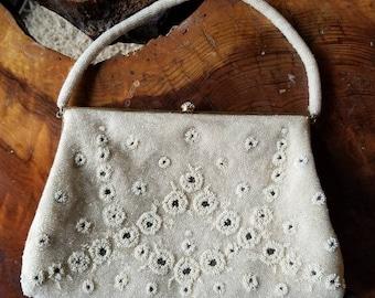 7ef69b1d3a2e Vintage Magid Hand Beaded Made In France Rhinestone Purse
