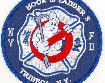 New York City Hook and Ladder 8 Tribeca Ghostbusters Patch
