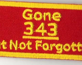 91101 343 Gone But Not Forgotten (3.0 x 1.25)