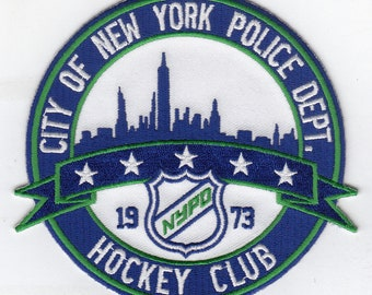 "New York City Police Department Hockey Club Team (4"")"