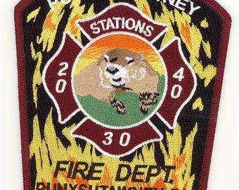Pennsylvania Punxsutawney Station 20 30 40 Patch Groundhog Day Phil Patch