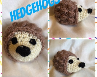Crocheted Toy Hedgehogs