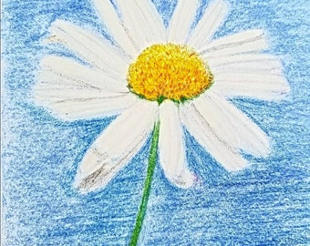 Daisy Print From 5 x 7 or 8 1/2 × 11