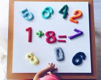Sewing Letters Pattern Pdf For Instant Download Felt Alphabet Etsy