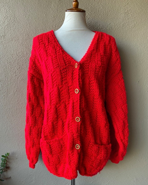 Red Apple Sweater